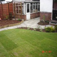 Good looking and durable turf laid by Country Lane Landscapes